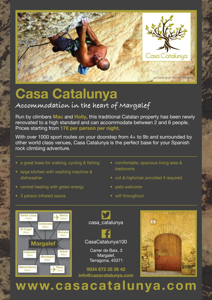 Casa Catalunya promotional poster